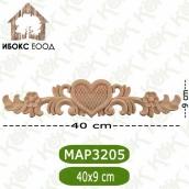 Дървен декоративен елемент МАР 3205